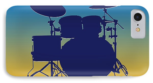 San Diego Chargers Drum Set IPhone Case by Joe Hamilton