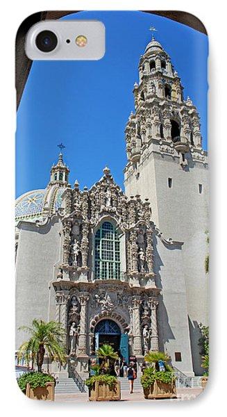 San Diego Museum Of Man IPhone Case by Claudia Ellis