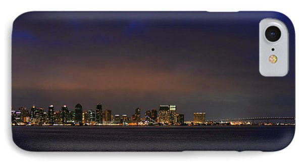 San Diego Night Sky IPhone Case by Christine Till