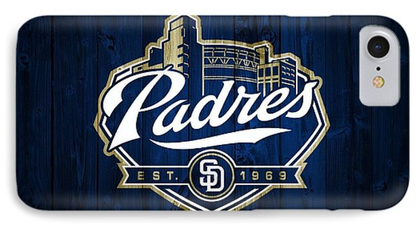 San Diego Padres Barn Door IPhone Case by Dan Sproul