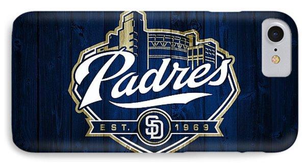 San Diego Padres Barn Door IPhone Case by Dan Sproul