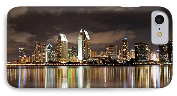 IPhone Case featuring the photograph San Diego Skyline 1 by Lee Kirchhevel