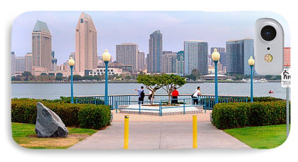 San Diego Skyline From Coronado Island IPhone Case by Panoramic Images