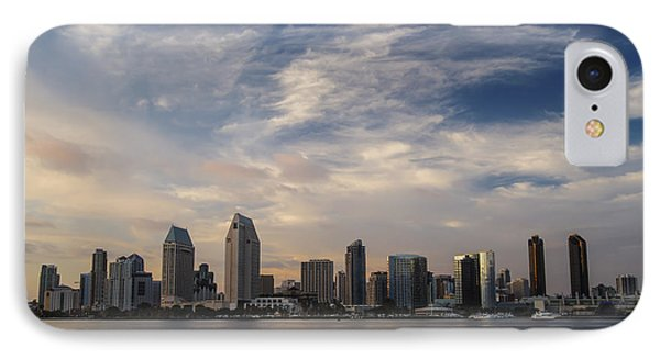 IPhone Case featuring the photograph San Diego Skyline Sunset 1 by Lee Kirchhevel