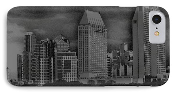 San Diego Storm IPhone Case by Kirt Tisdale