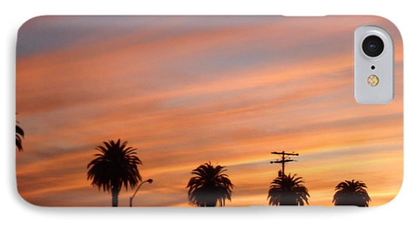 San Diego Sunset 2 IPhone Case by Val Oconnor