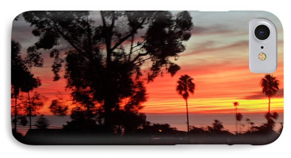 San Diego Sunset 5 IPhone Case by Val Oconnor