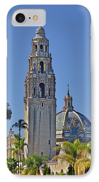 San Diego's Pride - Balboa Park IPhone Case by Christine Till