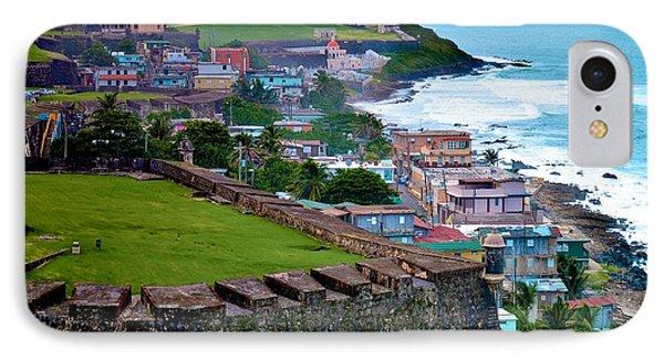 IPhone Case featuring the photograph San Felipe Del Morro Fortress From San Cristobal by Ricardo J Ruiz de Porras