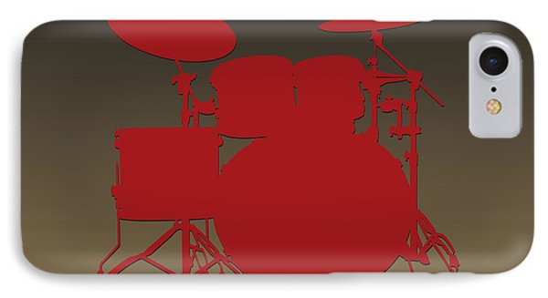 San Francisco 49ers Drum Set IPhone Case by Joe Hamilton