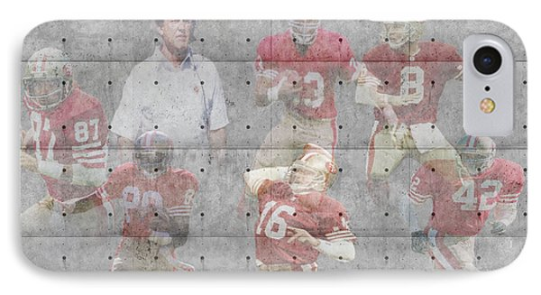San Francisco 49ers Legends IPhone Case by Joe Hamilton