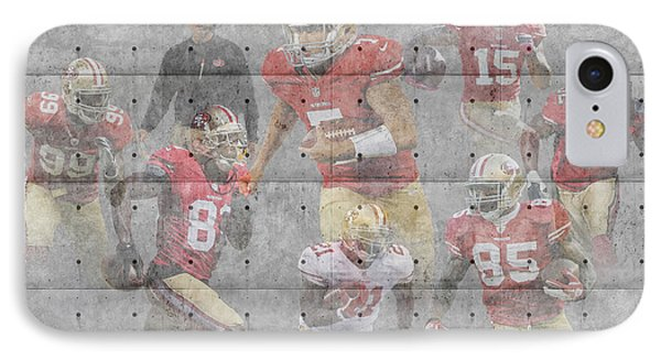 San Francisco 49ers Team IPhone Case by Joe Hamilton