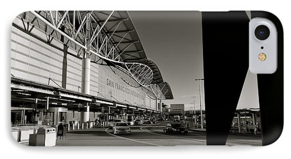 San Francisco Airport IPhone Case by Alex King