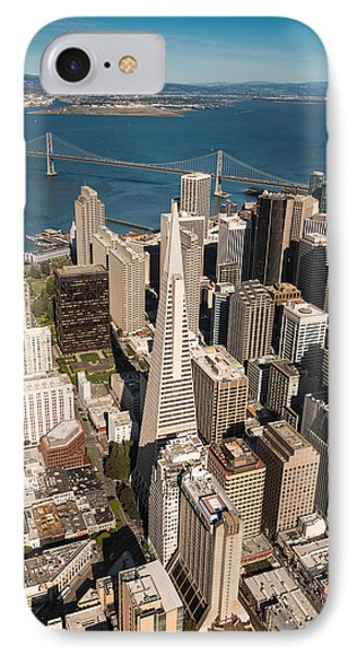Helicopter iPhone 7 Case - San Francisco Aloft by Steve Gadomski