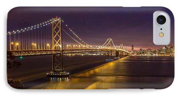 San Francisco Bay Bridge Phone Case by Pierre Leclerc Photography
