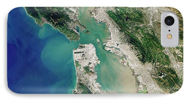 San Francisco Bay IPhone Case by Jesse Allen And Robert Simmon/u.s. Geological Survey/nasa