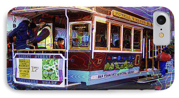 San Francisco Cable Car No. 17 IPhone Case by Daniel Hagerman