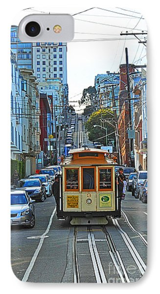 San Francisco Cable Car To Powell And Market Streets IPhone Case