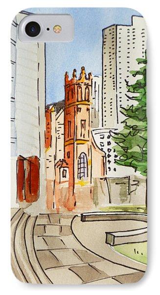 San Francisco - California Sketchbook Project Phone Case by Irina Sztukowski