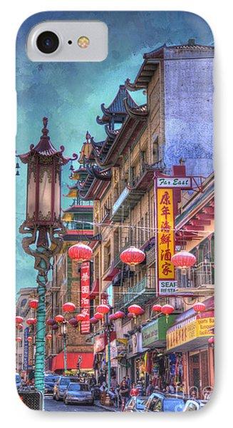 San Francisco Chinatown IPhone Case by Juli Scalzi