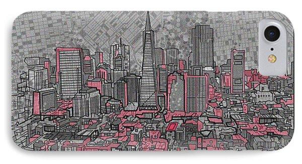 San Francisco Cityscape 2 IPhone Case