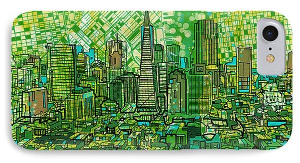 San Francisco Cityscape 3 IPhone Case
