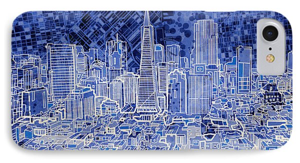 San Francisco Cityscape 4 IPhone Case