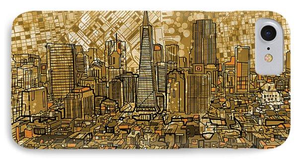 San Francisco Cityscape IPhone Case