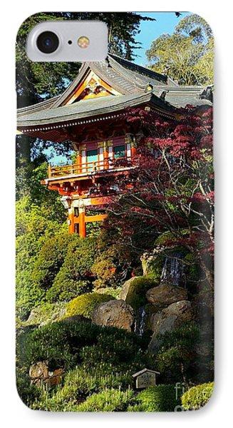 San Francisco Golden Gate Park Japanese Tea Garden 10 Phone Case by Robert Santuci