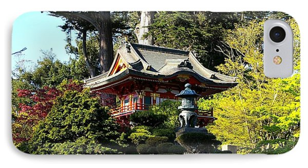 San Francisco Golden Gate Park Japanese Tea Garden 5 Phone Case by Robert Santuci