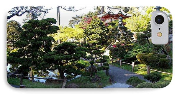 San Francisco Golden Gate Park Japanese Tea Garden 6 Phone Case by Robert Santuci