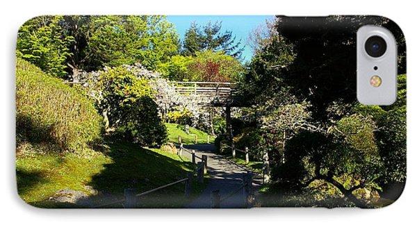 San Francisco Golden Gate Park Japanese Tea Garden 7 Phone Case by Robert Santuci