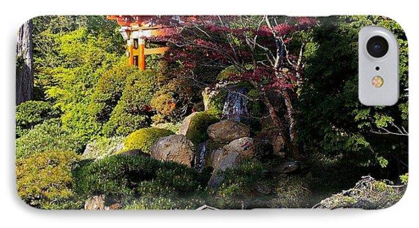 San Francisco Golden Gate Park Japanese Tea Garden 9 Phone Case by Robert Santuci