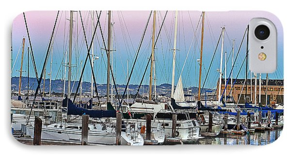 San Francisco Harbor At Pier 39 Phone Case by Artist and Photographer Laura Wrede