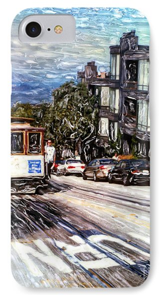 San Francisco Hyde Street Cable Car IPhone Case