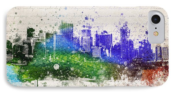 San Francisco In Color IPhone Case by Aged Pixel