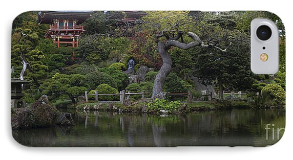 San Francisco Japanese Garden IPhone Case by Mike Reid