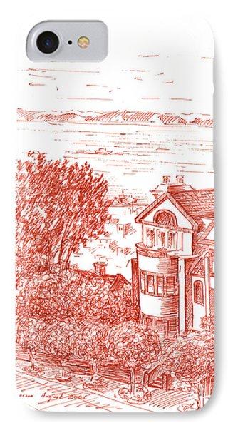 San Francisco Leavenworth Street Bay View IPhone Case by Irina Sztukowski