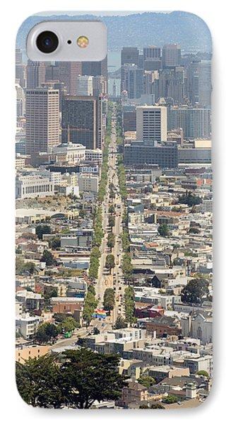 San Francisco - Market Street - Castro To Embarcadero Phone Case by Daniel Furon