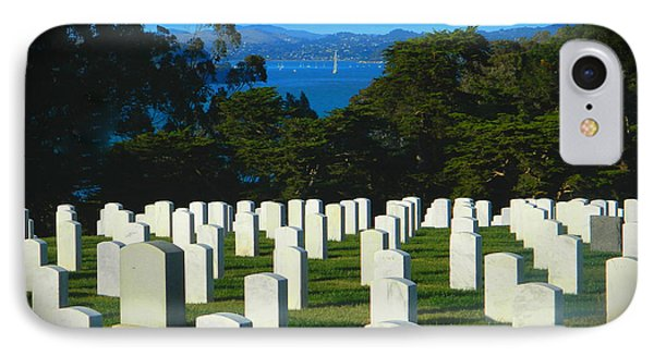 San Francisco National Cemetery In El Presidio IPhone Case by Emmy Marie Vickers