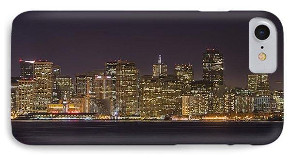 San Francisco Nighttime Skyline 1 IPhone Case