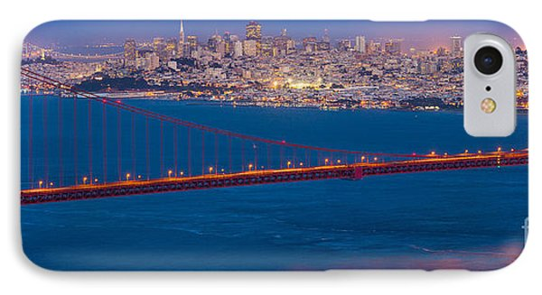 San Francisco Panorama IPhone Case by Inge Johnsson