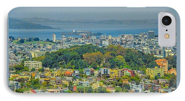 San Francisco - Scenic Cityscape IPhone Case by Ben and Raisa Gertsberg