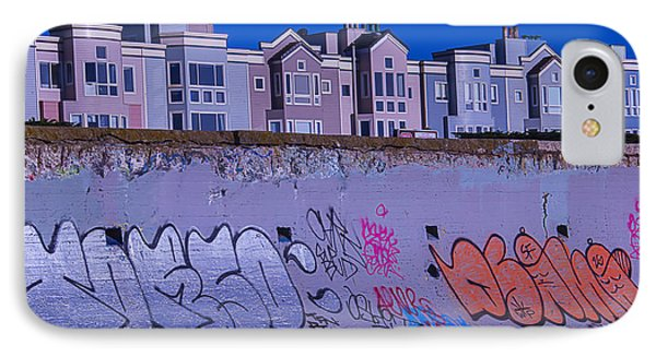 San Francisco Sea Wall IPhone Case by Garry Gay