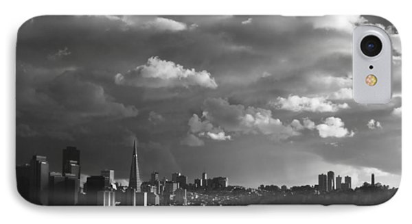 San Francisco Skyline IPhone Case by Sean Foster
