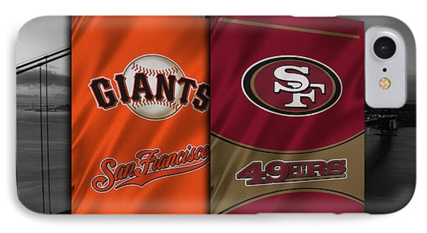 San Francisco Sports Teams IPhone Case by Joe Hamilton