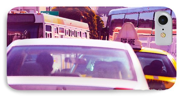 San Francisco Traffic Jam IPhone Case by Artist and Photographer Laura Wrede