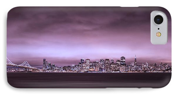 San Fransisco Cityscape Panorama IPhone Case by Brad Scott