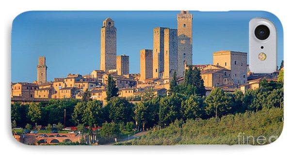 San Gimignano Skyline IPhone Case