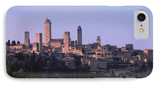 San Gimignano, Tuscany, Italy IPhone Case by Panoramic Images